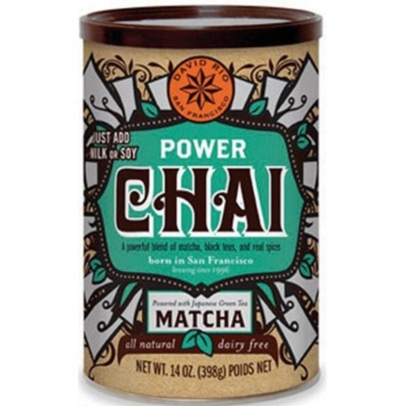 Power Matcha Chai David Rio 398 grs