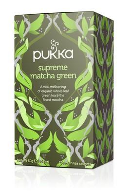 Infusión Orgánica Té Verde Matcha (20 bolsitas)