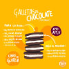 Receta para preparar galletas de chocolate tipo Oreo