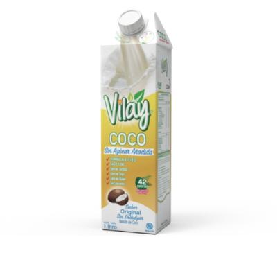 Vilay Bebida de Coco Sin Endulzar 1