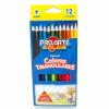 Lápices 12 Colores Triangulares Proarte