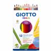 Lápices 12 Colores Mega Giotto 1