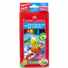 Lápices 12 Colores Acuarelables Faber-Castell
