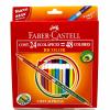 Lápices 24/48 Bicolores Faber-Castell