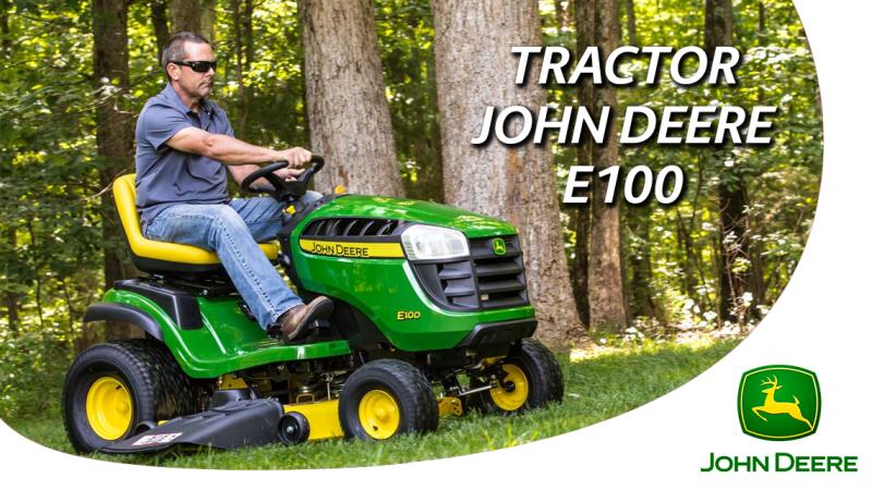 tractor john deere e100