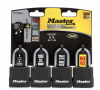 SET 4PC CANDADOS CON GOMA MASTER LOCK