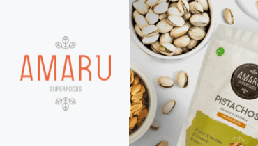 Tarjeta Amaru - Alimentos saludables