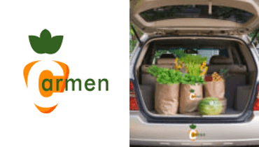 Tarjeta Carmen tu mercado - Alimentos saludables