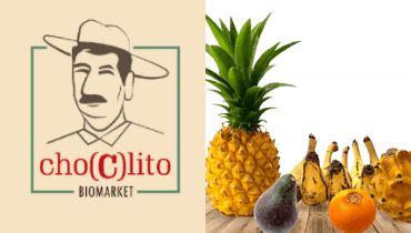 Tarjeta Choclito Biomarket - Alimentos saludables