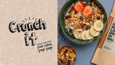 Tarjeta Crunchit - Alimentos saludables