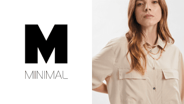 Tarjeta Minimal - Moda, ropa