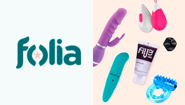Tarjeta Folia - Entretencion, sexshop