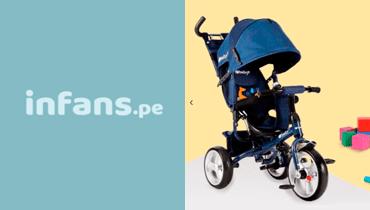 Tarjeta Infans - Bebés y juguetería