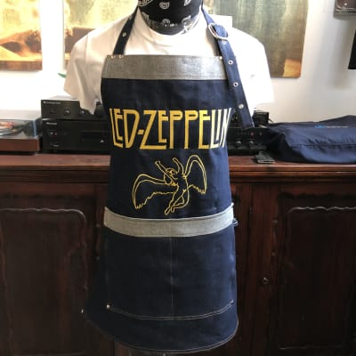 Delantal Carnicero Led Zeppelin4
