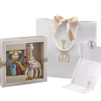 Pack regalo Sophie La Girafe más mordedor color