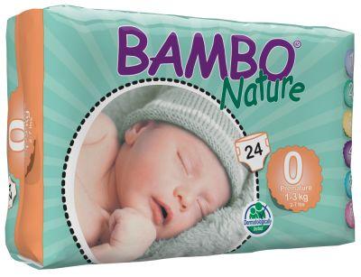 Pañales Ecológicos Bambo Prematuro