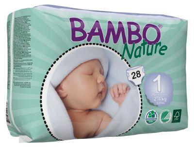 Pañales Ecológicos Recién Nacido