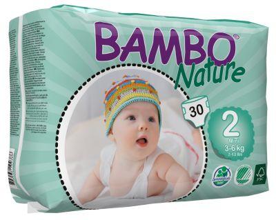 Pañales Ecológicos Bambo Mini 2