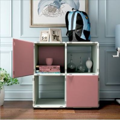 Mueble organizador modular (16 Piezas)
