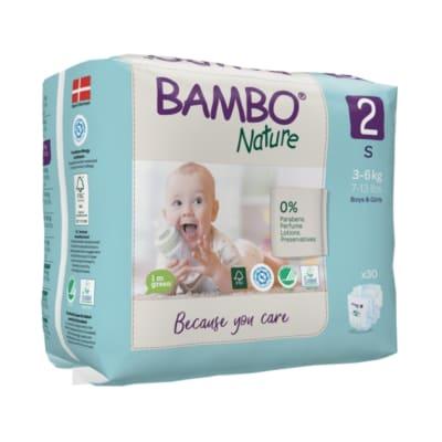 Pañal Bambo Ecológico 2 (3-6 Kg) x30