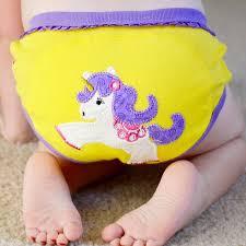 Calzón de entrenamiento unicornio