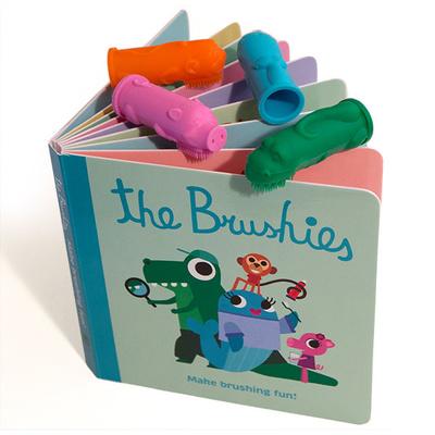 Set Cepillos dedo Brushies+Libro Inglés