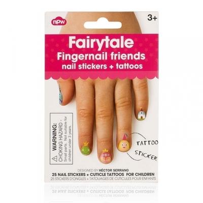 Sticker uñas Tatuajes hadas NPW
