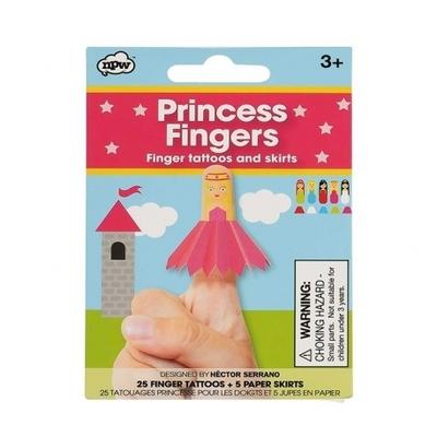 Tatuajes Dedos Princesa NPW