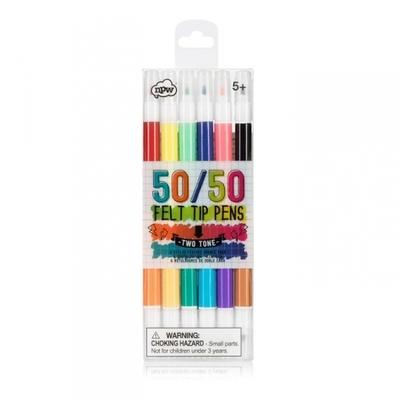 Lápices Marcadores 50/50 doble NPW