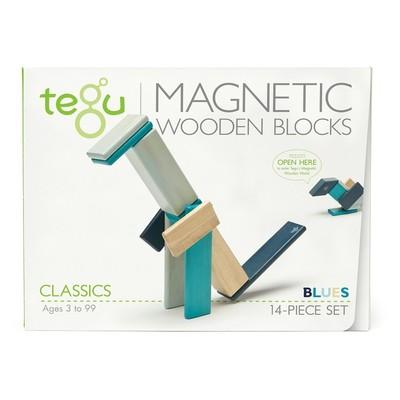 Bloques de madera magnéticos Tegu 14 pcs