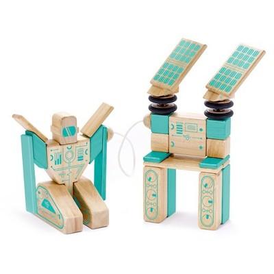 Bloques de madera magnéticos Tegu future