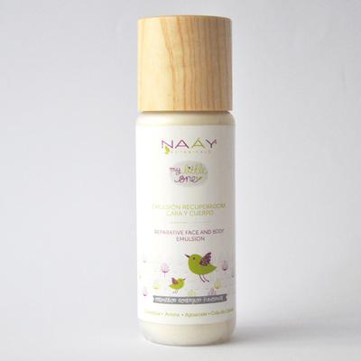 Crema recuperadora cara y cuerpo orgánica