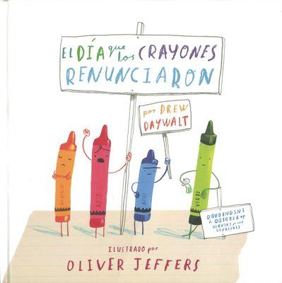 Libro El día que los crayones renunciaron