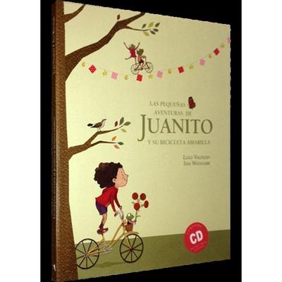 Libro Pequeñas aventuras de Juanito y su bicicleta (Incluye CD)