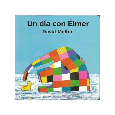 Libro Un día con Elmer