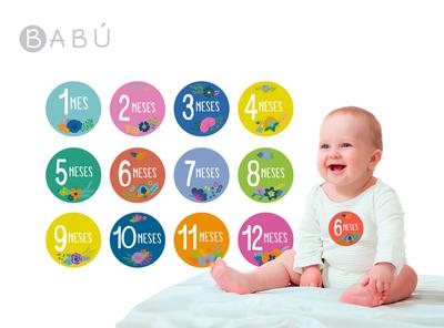 Sticker recuerdo Babú Flores