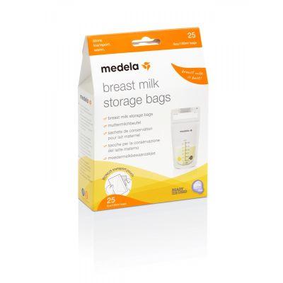 Bolsa Medela para almacenar leche
