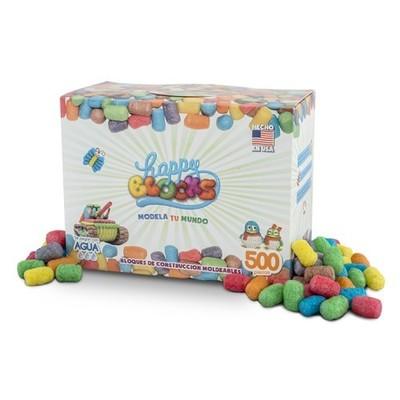 Happy Blocks Caja 500 Piezas