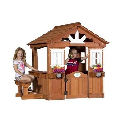 Casa de Juego de madera Vista Escénica