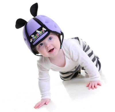 Casco Bebé gateador