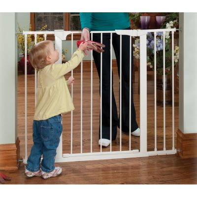 Reja o Puerta Seguridad Escalera XL Blanco