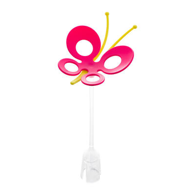 Accesorio Secador de mamaderas Grass Mariposa rosada