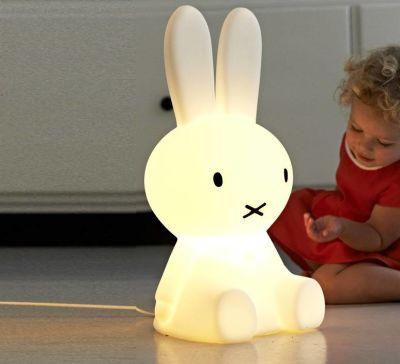 Miffy Lámpara de piso espanta cuco 50 cm