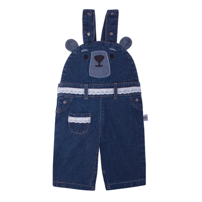 Jardinera Jeans niña Historia de un Oso