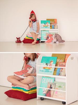 Librero con Ruedas