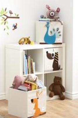 Organizador cuadrado para juguetes