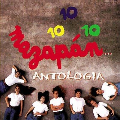 CD de música Mazapán Antología