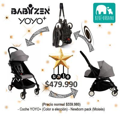 Combo Coche Yoyo + Moisés Babyzen