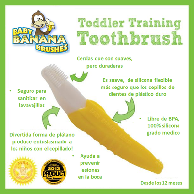 Cepillo dental Baby Banana (12+ meses)