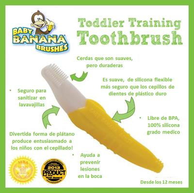 Cepillo dental Baby Banana (12+ meses)